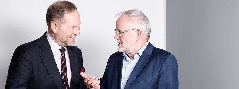 Dr Werner und Dietmar Schickel