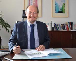 Portrait Roland Osiander, Geschäftsführer der KWG Senftenberg