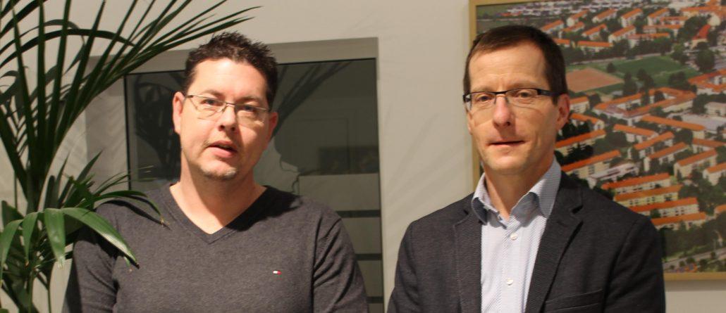 Jan Forkel, Kaufmännischer Vorstand und Marco Scheiding, Techischer Vorstand